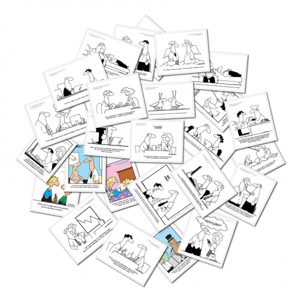 Cartoonist Randy Glasbergen, Freelance Cartoonist for Hire, Custom Cartoons and Comic Illustrations.